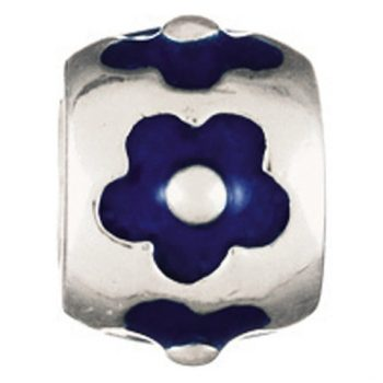 Chamilia Flower- Dark Blue(Limited Availability)