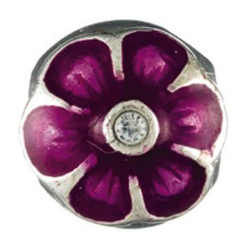 Chamilia Flower- Purple (limited availability)
