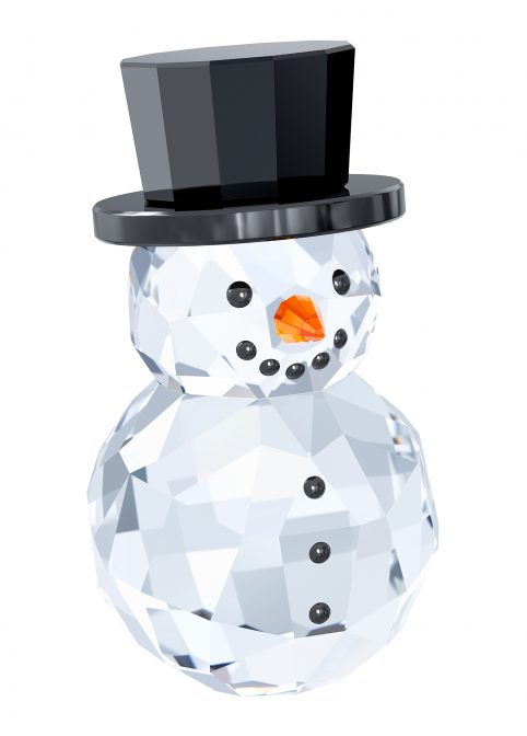 Snowman with Hat 1