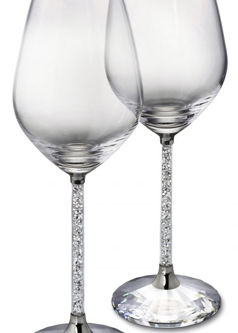 Crystalline Red Wine Glasses  (Set Of 2) 1