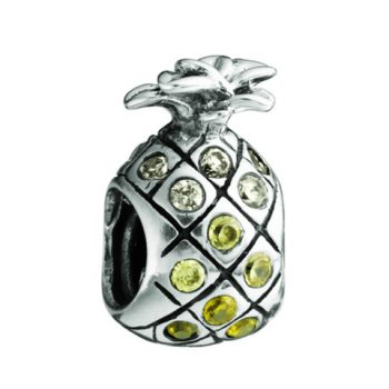 Chamilia Pineapple-Yellow & Clear Swarovski(Limited availability