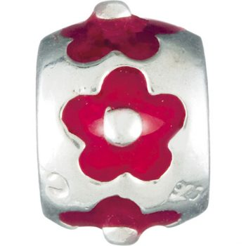 Chamilia Flower- Red (Limited availability)