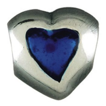 Chamilia Heart- Dark Blue (Limited availability)