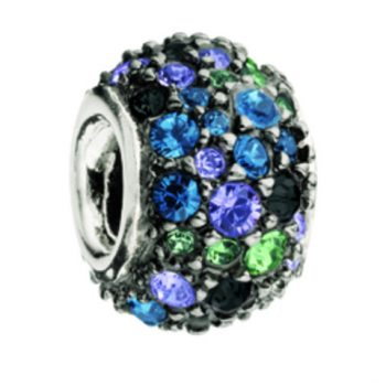 Chamilia Jewelled Kaleidoscope - Mixed & Black Swarovski