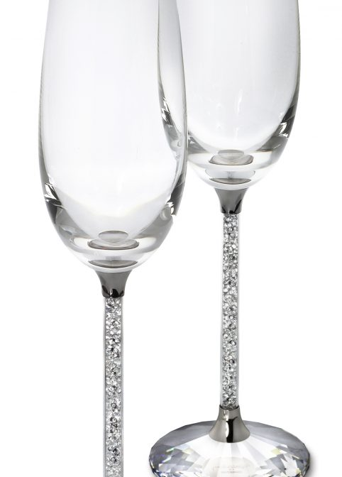 Crystalline Toasting Flutes (Set Of 2) 1