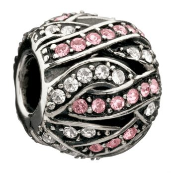 Chamilia Entwined Jewels - Clear & Pink Swarovski
